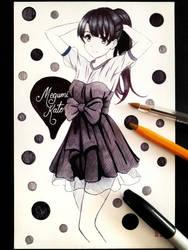 Megumi Kato by Yandereraptor