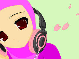 Listening to the Quran by LittleMuslimLady