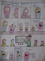 Ramadan at School: Pg 1 by LittleMuslimLady