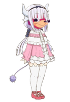 The VR Chat Kanna by TheGamerLover