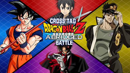 Dragon Ball Z Abridged Cross Tag Battle by TheGamerLover