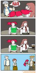Trevor Crown (Metal Slug Attack Fan Comic) by TheGamerLover
