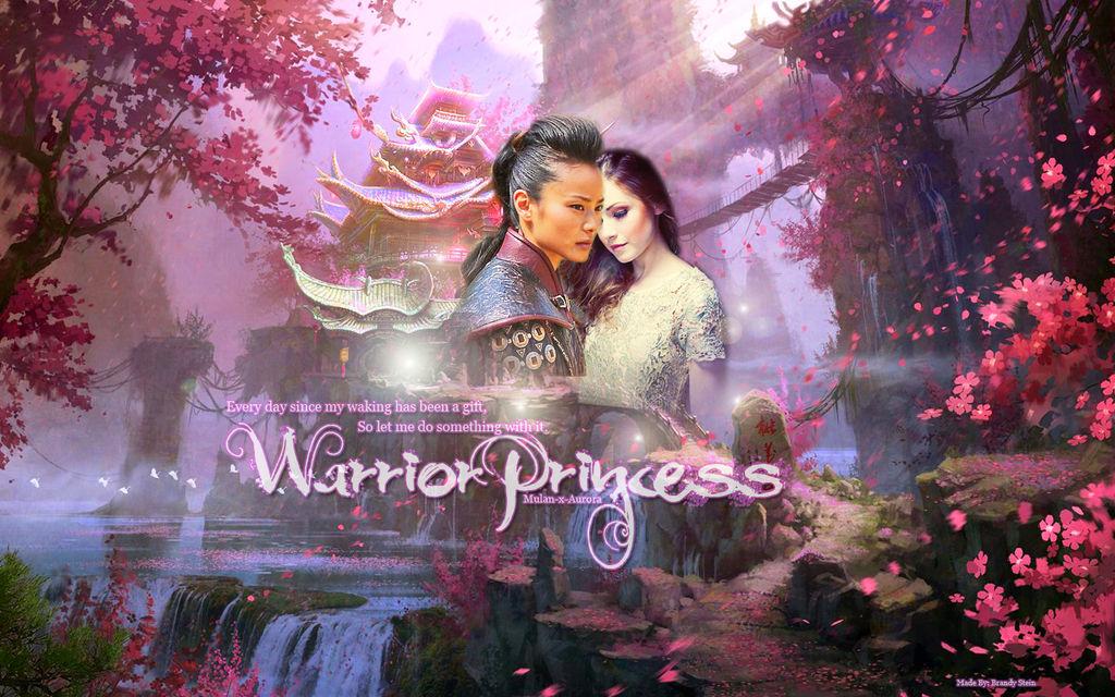 Warrior Princess Mulan X Aurora Wallpaper By B Chan 382 On Deviantart