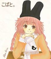 Kobato Bunny Hat by mina-akira