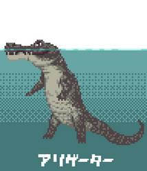 Alligator by HigataUrase
