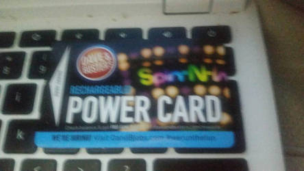 My Dave and buster power card by Gamerrobloxian1195