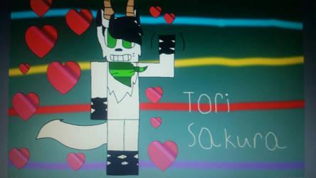 fanart for Tori Sakura by Gamerrobloxian1195