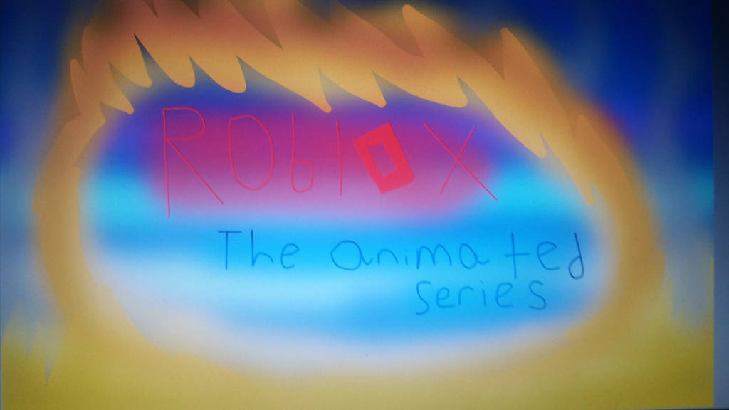 Roblox: The animated series Logo by Gamerrobloxian1195
