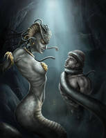 Medusa by Kromespawn