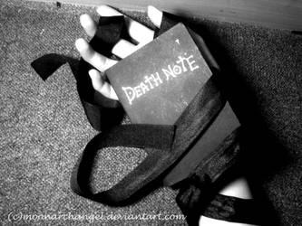 death gift by moonarchangel