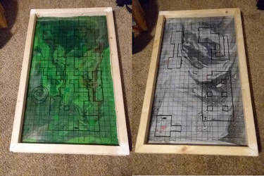 Dungeons and Dragons Board (in progress) by DaesLune