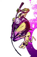 Donatello Colors by ComicMunky