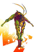 Michelangelo Colors by ComicMunky