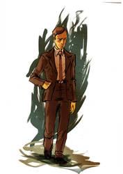 Prescott Bush by ComicMunky
