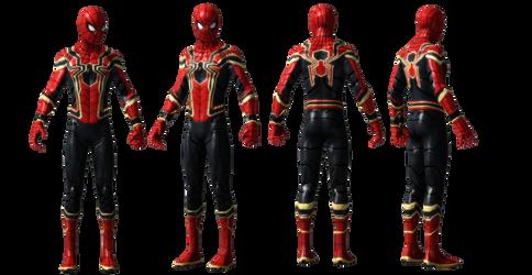 Iron Spider DETAIL Spiderman Homecoming UPDATED by AditRaidaa