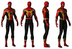 Iron Spider Version by AditRaidaa