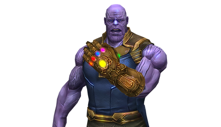 Thanos Demands Your Silence!! HD Texture by AditRaidaa