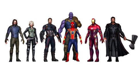 Infinity War HD Texture by AditRaidaa by AditRaidaa