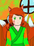 Silence of a Three Tail Fox (Recolored) by meadowtraveller22896