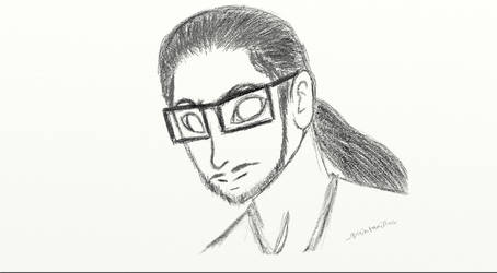 Sketch of Me by quintanillac
