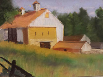 Valley Forge, Pennsylvania soft pastels by virtuosoale