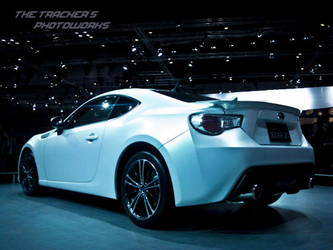 Subaru BRZ Concept : Back Side by thetrackers