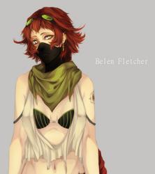 Belen Fletcher by Arcuu