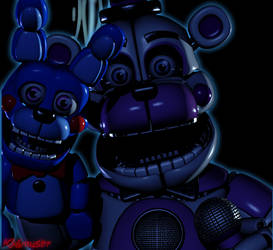 [Blender] Funtime Freddy Render by Kb6muserr