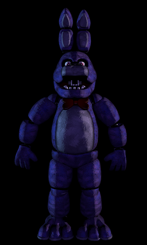 [Blender] Bonnie Standing by Kb6muserr