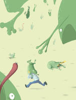 Frog Rain by blob1