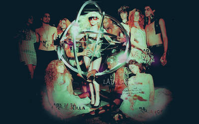 Wallpaper 1 - Lady GaGa by xlighthearted