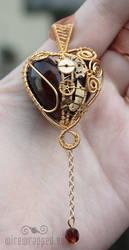 Clockwork heart IV by ukapala