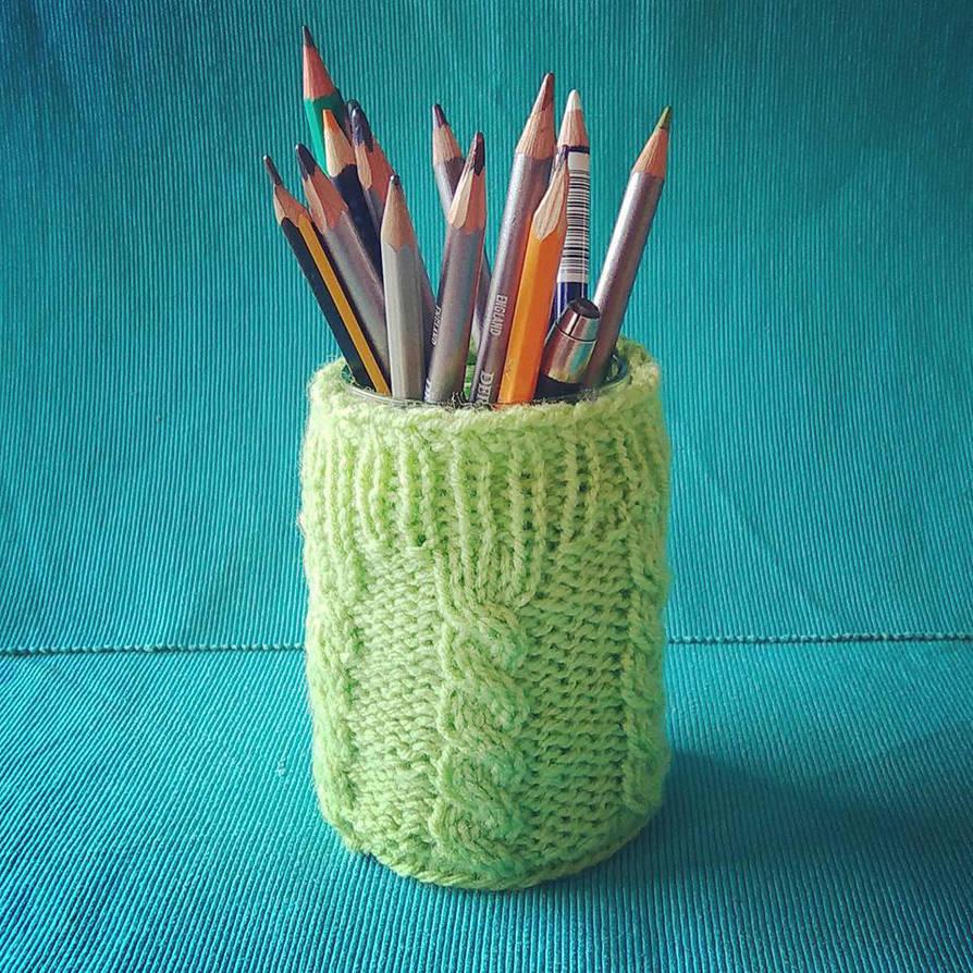 Jar in a jumper by ukapala