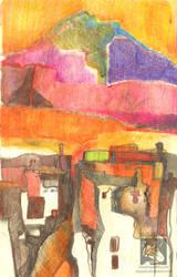 Red Sunrise by ukapala