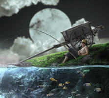 Fishing by alexnoreaga