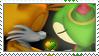 TailsXCosmo Stamp by TheKitsuneAlchemist