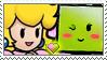 [Comm.] Princess Peach X Mimi Stamp by TheKitsuneAlchemist