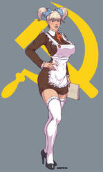 In soviet Russia legs have YOU by Dmitrys