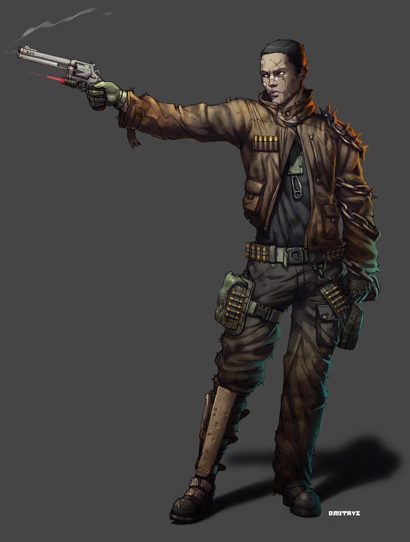 Revolver man by Dmitrys