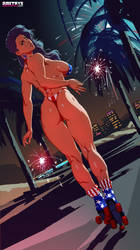 Elodie 4th of July by Dmitrys
