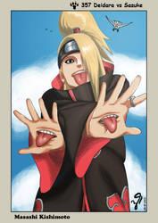 Naruto 357 Deidara vs Sasuke by KillerbeeSan