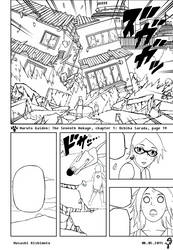 Naruto Gaiden Lineart chapter 1 page 19 by KillerbeeSan