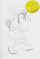 Corgi at the serve[ART JAM] by BronyKAL9278REBOOT