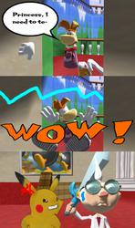 [MMD comic] Close call Rayman by BronyKAL9278REBOOT