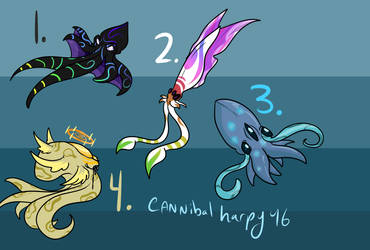 Cephalocuties 3 (Closed) by CannibalHarpy