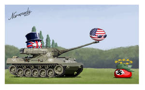 D-Day Art, Royal Forces with US Army by SevonianBall