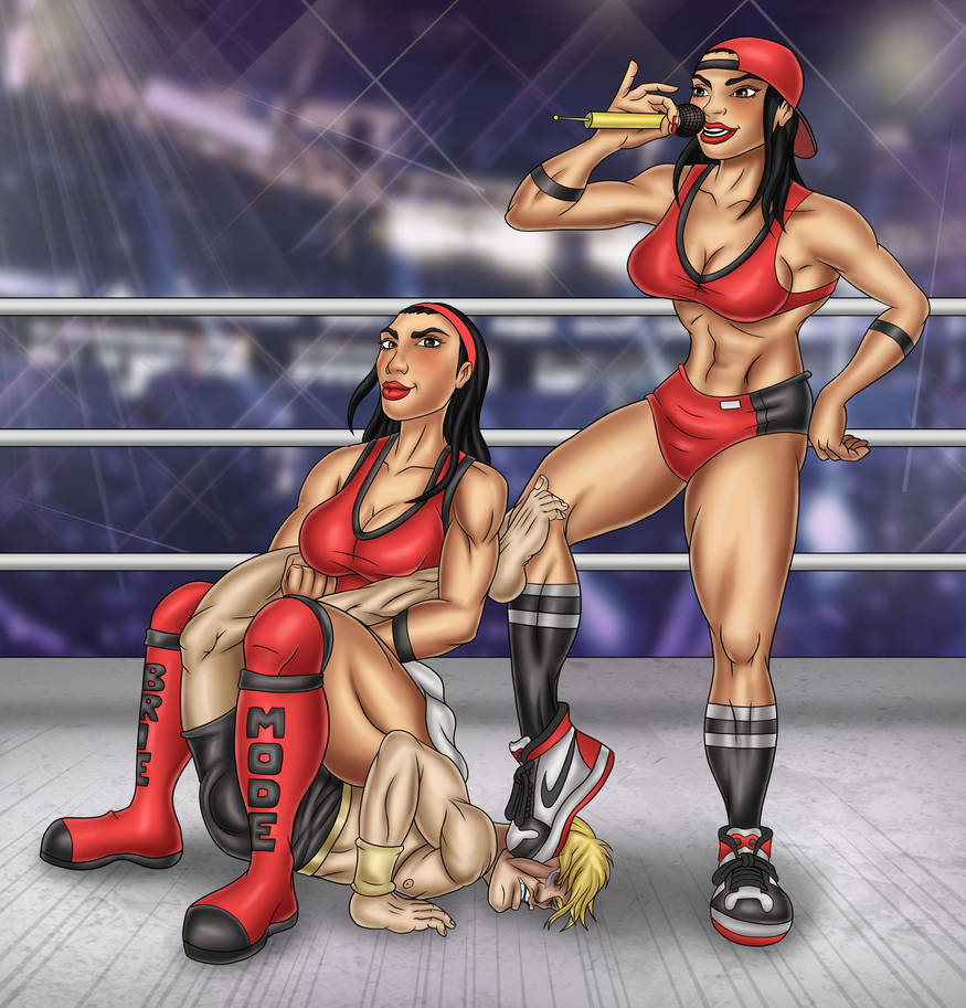Bella Twins in Action 3 by rag-man