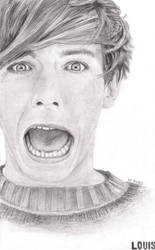 Louis Tomlinson - One Direction by Bree-Style