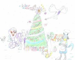 MERRY CHRISTMAS EVERYONE by livinlovindude