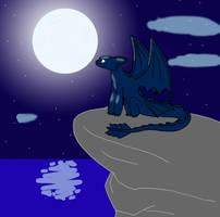 The last Night fury by livinlovindude